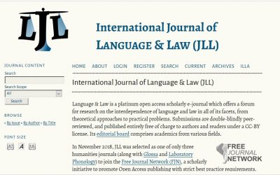 Seven Years Journal of Language and Law: Editors' Progress Report